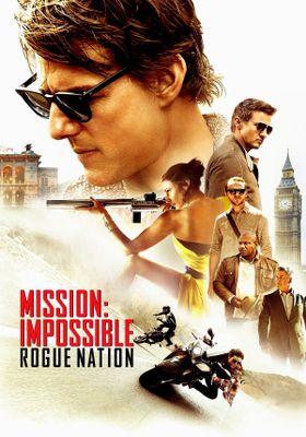 『ミッション : インポッシブル/ ローグネイション』のポスター