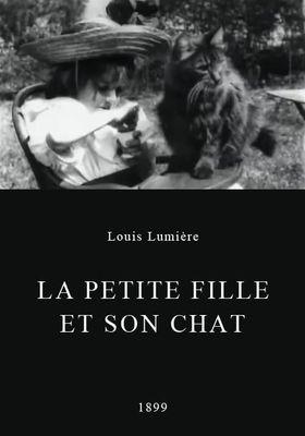 소녀와 고양이의 포스터