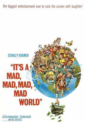 매드 매드 대소동의 포스터