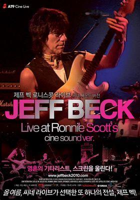 제프 벡 로니 스콧 라이브의 포스터