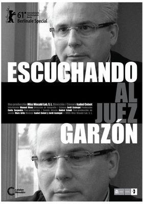 Escuchando al juez Garzon의 포스터