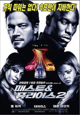 『ワイルド・スピードX2』のポスター