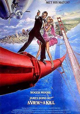 007 뷰 투 어 킬의 포스터