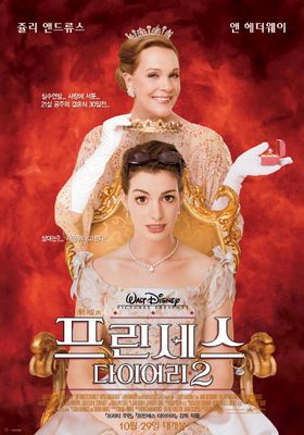 『プリティ・プリンセス2/ロイヤル・ウェディング』のポスター