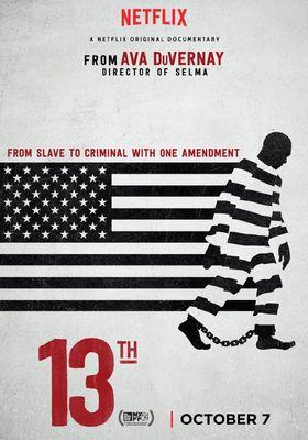 『13th -憲法修正第13条-』のポスター