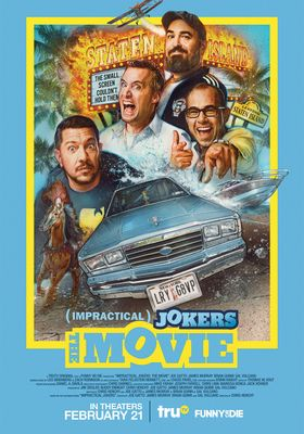 Impractical Jokers The Movie's Poster