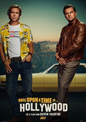 『ワンス・アポン・ア・タイム・イン・ハリウッド』のポスター