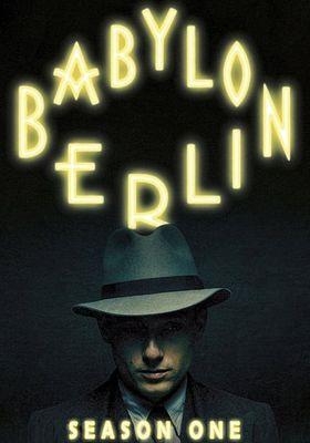 Babylon Berlin Season 1's Poster