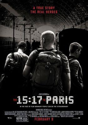 『15時17分、パリ行き』のポスター
