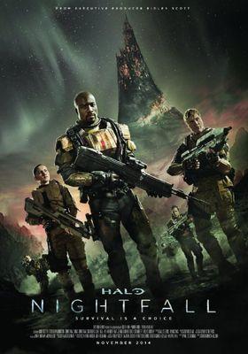 Halo: Nightfall's Poster