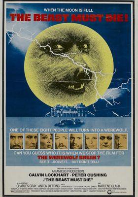 『The Beast Must Die (原題)』のポスター