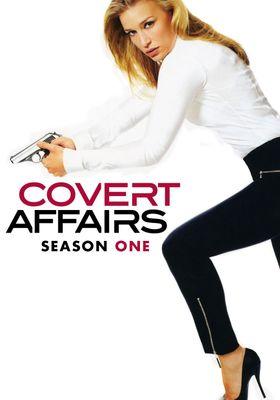 Covert Affairs Season 1's Poster