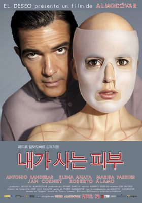 『私が、生きる肌』のポスター