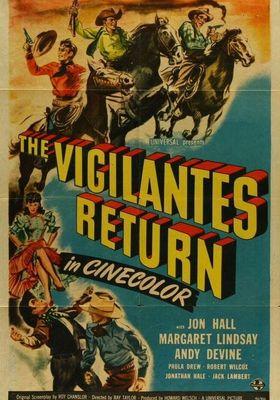 The Vigilantes Return's Poster