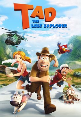 Tad, the Lost Explorer's Poster