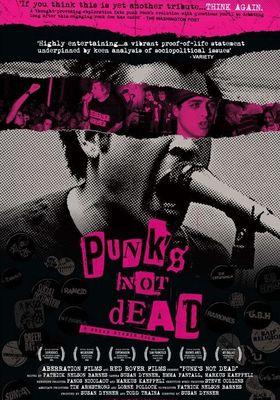 펑크는 죽지 않았다의 포스터