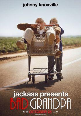 『ジャッカス クソジジイのアメリカ横断チン道中』のポスター