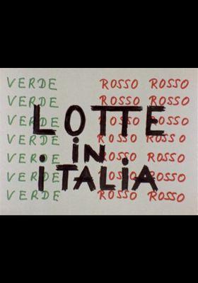 Struggle in Italy's Poster