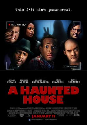 A Haunted House's Poster