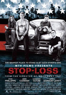 『ストップ・ロス 戦火の逃亡者』のポスター