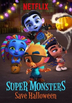 Super Monsters Save Halloween's Poster