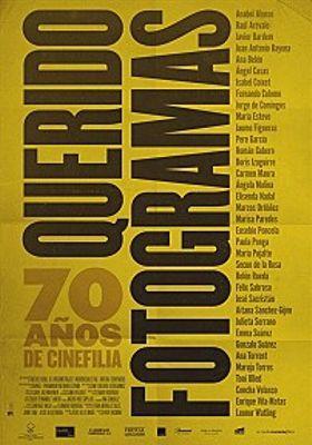 『쿠에리도 포토그라마스』のポスター