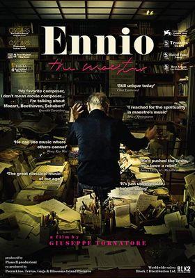 『Ennio: The Maestro(原題)』のポスター
