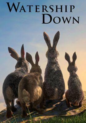 『ウォーターシップ・ダウンのウサギたち』のポスター