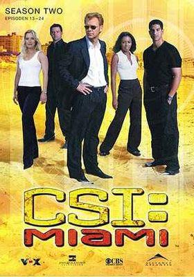 CSI: Miami Season 2's Poster