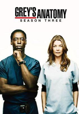 Grey's Anatomy Season 3's Poster
