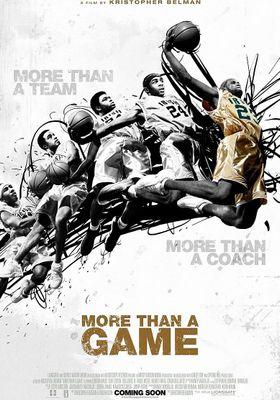 『モア・ザン・ア・ゲーム』のポスター