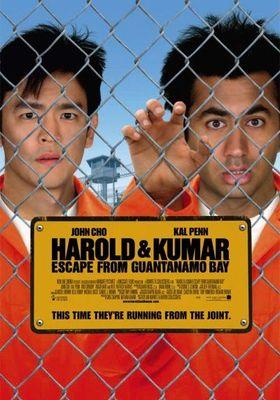 『Harold & Kumar Escape from Guantanamo Bay(原題)』のポスター