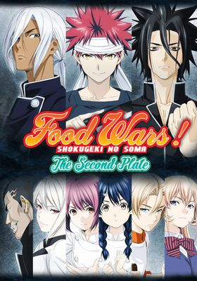 Food Wars! The Second Plate's Poster