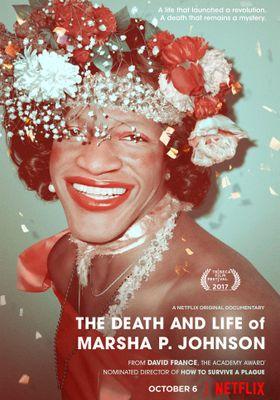 무지개 너머: 드래그 퀸 마샤 P 존슨의 포스터