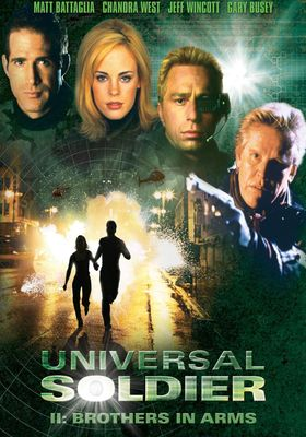 『Universal Soldier II: Brothers in Arms』のポスター