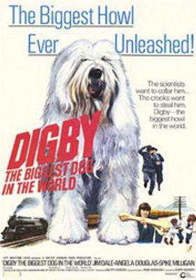 『むく犬ディグビー』のポスター