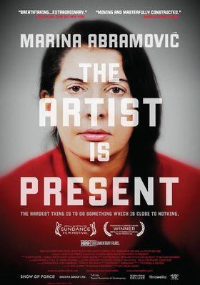 『Marina Abramovic: The Artist Is Present(原題)』のポスター