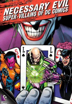 Necessary Evil: Super-Villains of DC Comics's Poster