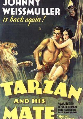 타잔 - 조니 웨이스뮬러 편 2의 포스터