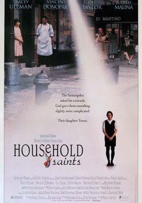 『Household Saints』のポスター
