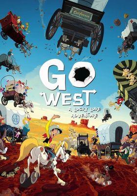 Go West: A Lucky Luke Adventure's Poster