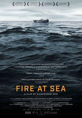 『海は燃えている イタリア最南端の小さな島』のポスター