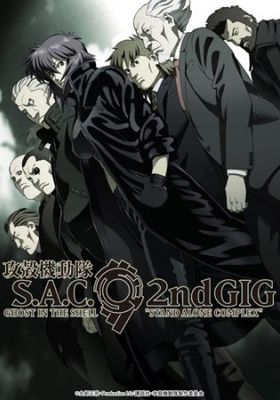 『攻殻機動隊 S.A.C. 2nd GIG』のポスター