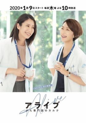 Alive: Dr. Kokoro, The Medical Oncologist 's Poster