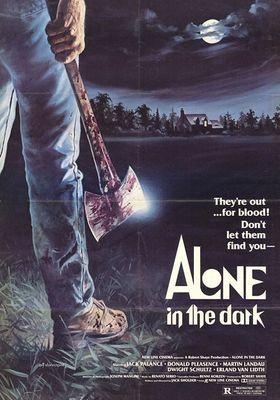어둠 속에 홀로의 포스터