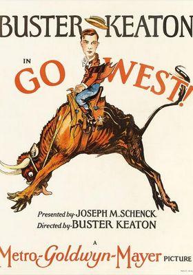 『キートン西部成り金』のポスター