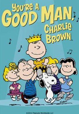 너는 좋은 사람이다, 찰리 브라운의 포스터
