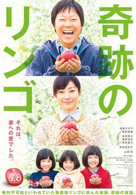 『奇跡のリンゴ』のポスター