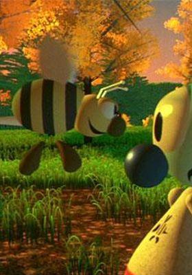 안드레와 월리 꿀벌의 모험의 포스터