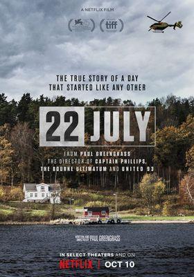 『7月22日』のポスター
